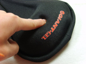 Extra Thick Padded Gel Bike Saddle Seat Cover - Lycra