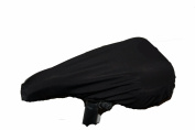Black Widow Waterproof Bike Saddle Cover Fits Up To 28cm x 19cm