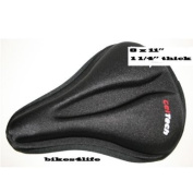 Velo Gel Tech Extra Thick 3.2cm Thick Gel Tech Delux Bike Saddle Cover 20cm x 28cm