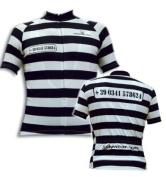 Jolly Wear Alcatraz Short Sleeve Jersey - Prison Stripes, XXX-Large