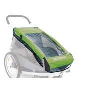 Croozer Rain cover for child trailers kid for 2
