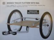 Outeredge Wooden Trailer Platform For Use With Trailer Base Sold Sepately by Outered