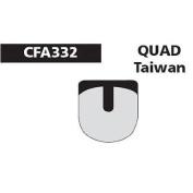 Ebc Quad Taiwan Disc Brake Pad - Green