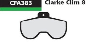 Ebc Clarke Clim8 Disc Brake Pad - Green