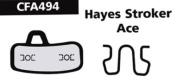 Ebc Hayes Stroker Ace Disc Brake Pad