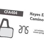 Ebc Hayes El Camino Disc Brake Pad