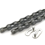 Clarks 9 Speed Chain 1.3cm x11/330cm x116 Links Comp with all Major Derailleur Systems MTB/Road Quick Release Link Inc
