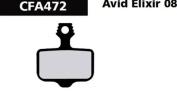 Ebc Avid Elixir Disc Brake Pad