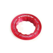 Token Cassette Lock Ring Campy 12T Red