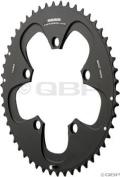 SRAM Chainring Road 52t 5 Bolt 110mm BCD Alum (52-36, 52-38) Red 4mm Black £75.59