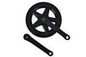 Raleigh RBR010 Chainset (Pack of 3) - Black