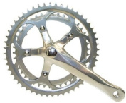 Silver Double Alloy Road Race Chainset 42/52