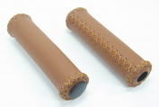 Velo Leather Grip - Brown, 125 mm