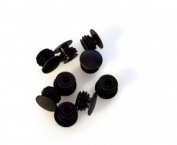 Bar end plugs, plastic 4 pack