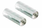 Point 29242000 BMX Axle Pegs for Hub Diameter 10 + 14 mm Silver