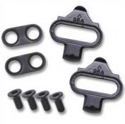 Wellgo 98A cleat set, Will fit any standard SPD shoes and SHIMANO mountain SPD pedals