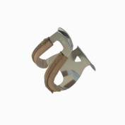 MKS Half Clip Steel Toe Clips Deep With Leather