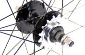 Tru-build Wheels RGR957W Rear Track Wheel - White, 700 C