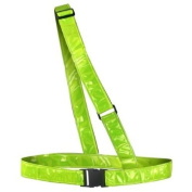 Time To Run Reflective High Visbility Sam Brown Cycling Sash Belt