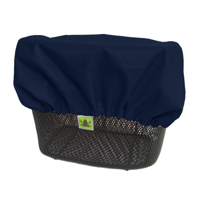 MadeForRain Cover for Front and Rear Bike Basket - CityTurtle - NightBlue