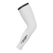 Castelli Nanoflex leg warmers cycling white white