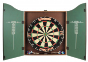 Winsport King's Head Darts Cabinet - Size 70X50X10