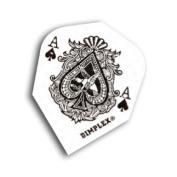 Harrows Ace Of Spades Dimplex Dart Flights STD 4 sets per pack