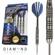 Match Play Steel Tip - Natural Tungsten, 32g, Style 07