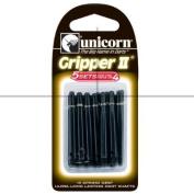 Darts Shafts, Gripper 2, Nylon, Black, Medium, Multipack