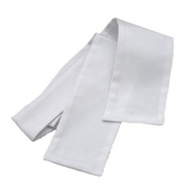 Untied Plain Cotton Pique Show / Hunting / Dressage Stock In White