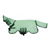 Rambo Pony Sweetitch Hoody FREE FLY MASK - Ice Green/Green
