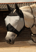 Rhinegold Horses Fly Mask with Ears