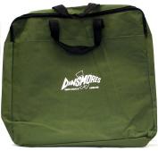 Stink Bag, Keepnet and Landing Net Holdall Zipped Top. Green PU Nylon