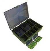 Matt Hayes Adventure Complete Tackle Box - Green