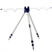 TRIXES Fishing Rods Tripod Stand Rest for Sea Beach Shore Pier Tackle Telescopic