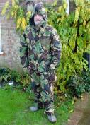 Camo Suit NBC - Large Camouflage Suit - Jacket & Trousers Army Surplus Suit