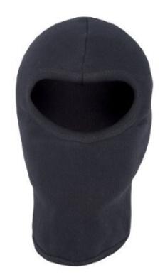 Mil-Com Open Face Cotton Balaclava - Black