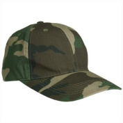 Military Style Baseball Cap Army Combat Hat Ripstop Fishing Hiking Woodland Camo