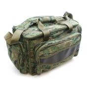 fishing tackle bag - camo carryall / holdall carp fishing, game fishing sea fishing - a great present