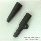 50 x safety lead clips and rubber tails