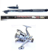 Telescopic 2.4m Carbon Spin Rod+Vigour Reel Combo+Line