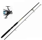 1.8m Spinning Rod & Lineaeffe RD Shiver Reel + Line