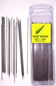 TraceAce Tackle 250cm X 15cm Stainless Steel Grip Wires For Grip Weight Moulds