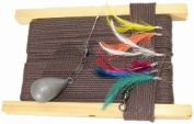 WSB Tackle Deluxe Feathered Mackerel Handline