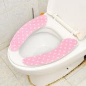 Antibacterial Printing Closestool Mat Toilet Seat Cover Clean Pad