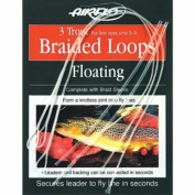 Airflo Poly Leader Trout Braided Loops Floating x3