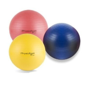 PhysioRoom Gym / Swiss / Yoga Ball With FREE Dual Action Pump