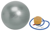 Gym Ball Swiss Ball Exercise Ball 55cm FREE Pump and Instruction Guide. Anti-Burst