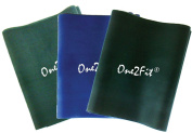 One2Fit Resistance Bands for Exercise (medium to Xheavy) - set of 3