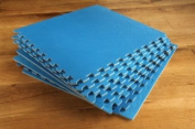 Interlocking Blue Gym Play mats 8 pack 32 sq ft